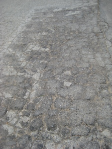 Bad pavement